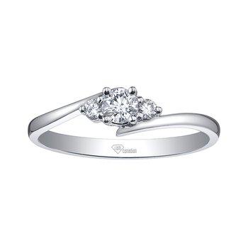 I am Canadian™ Diamond Ladies Engagement Ring