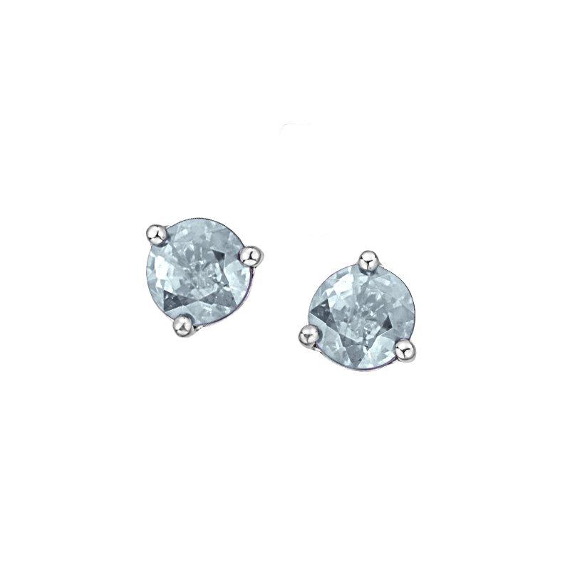 Corona Aquamarine Earrings