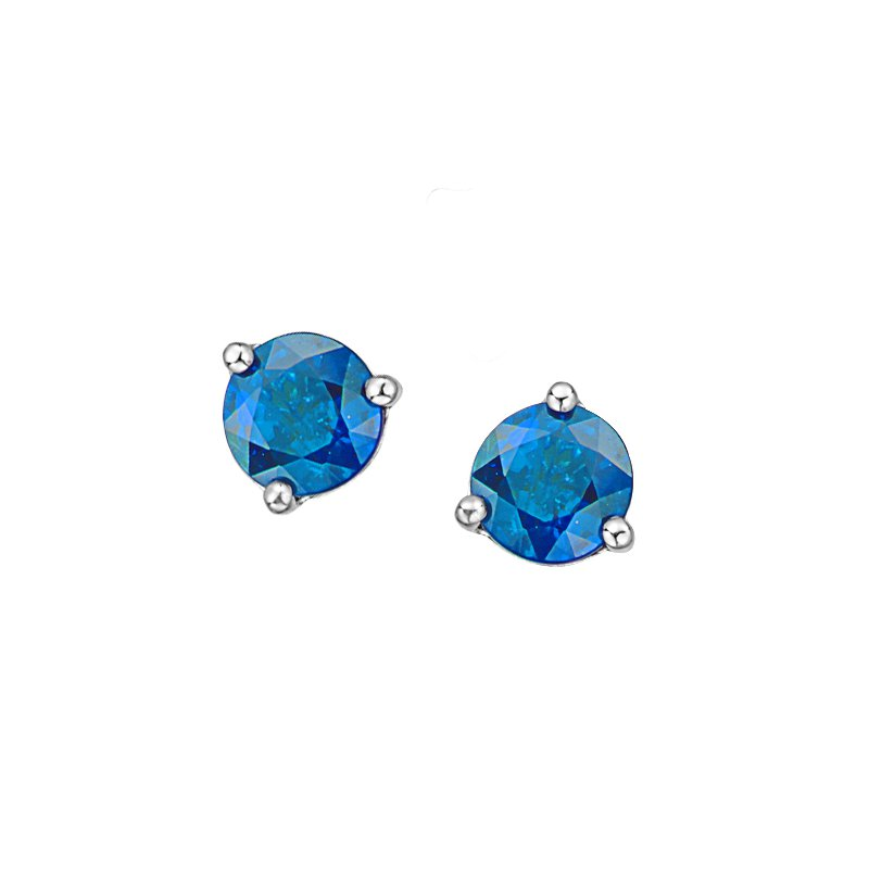 Corona Blue Topaz Earrings