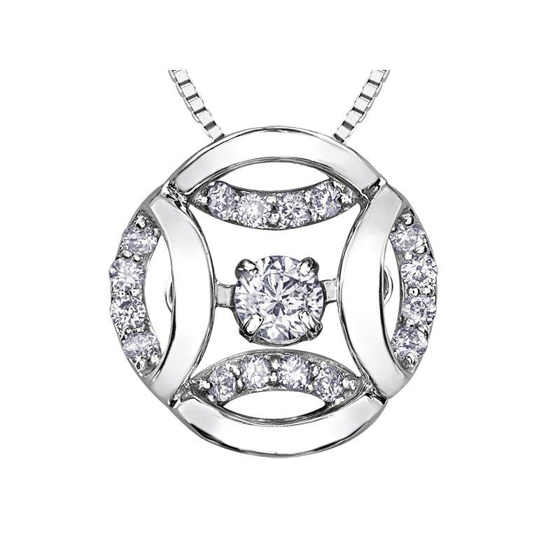 Corona Pulse™ Diamond Pendant