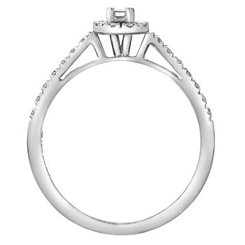 Diamond Ladies Engagement Ring