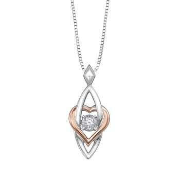 Pulse™ Diamond Solitaire Pendant