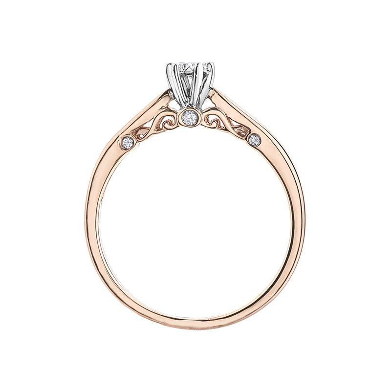Corona Diamond Ladies Engagement Ring