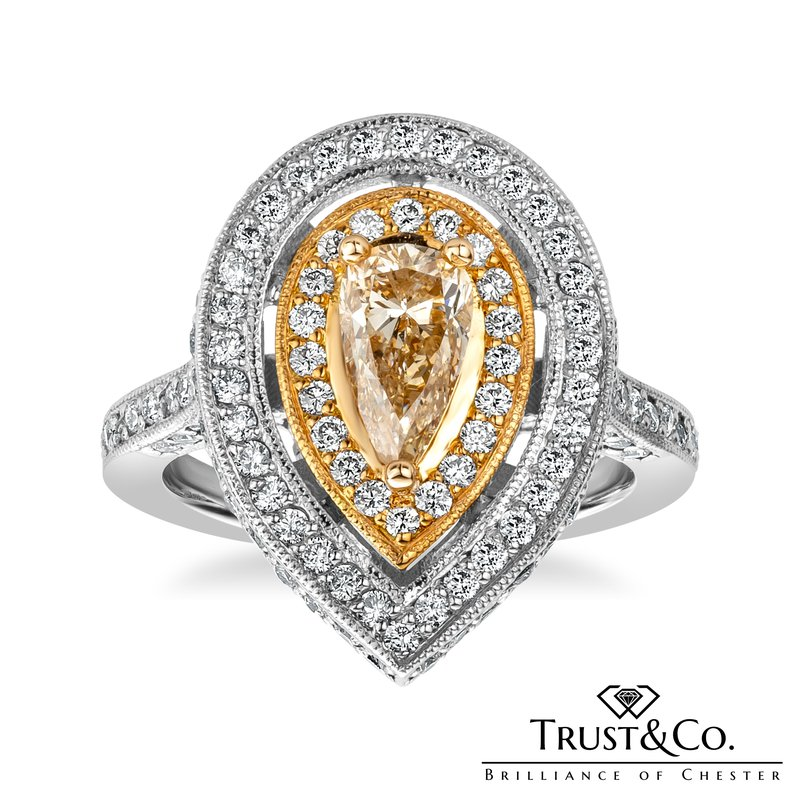 Trust Couture Fancy Diamond Ring