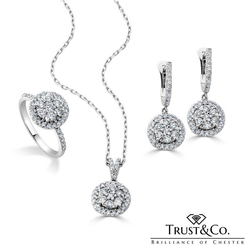 Trust Couture Jewellery Set Diamond
