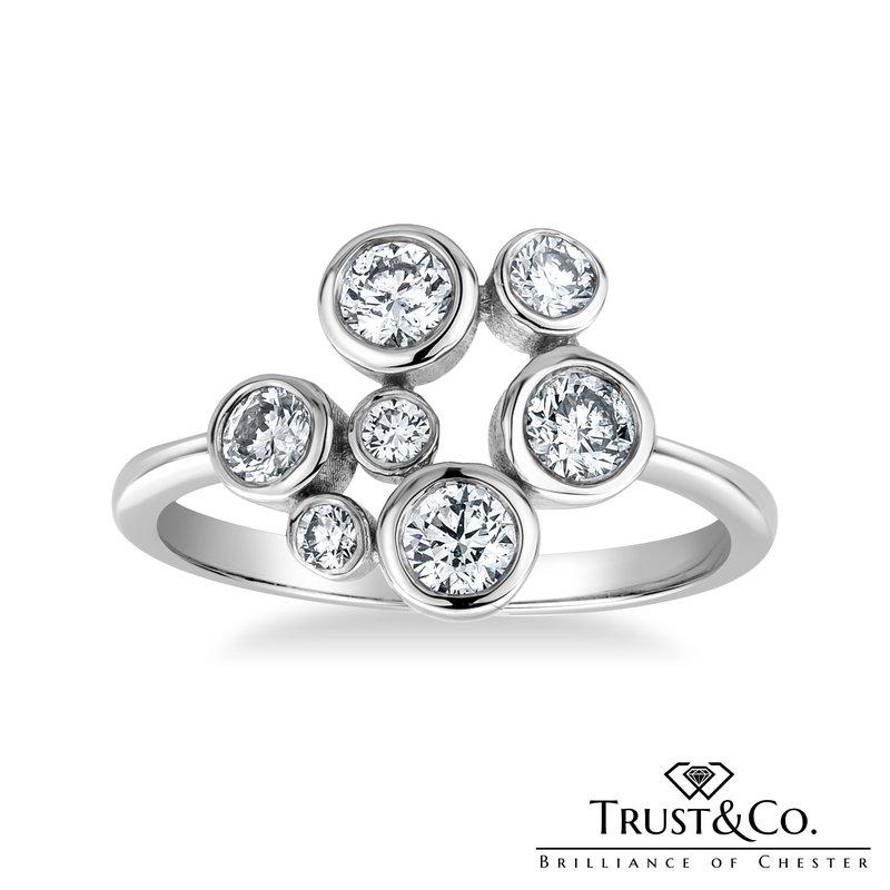 Trust Couture Diamond Bubble Ring