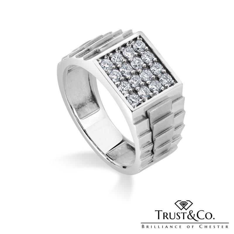 Trust Couture Diamond Gent's Ring