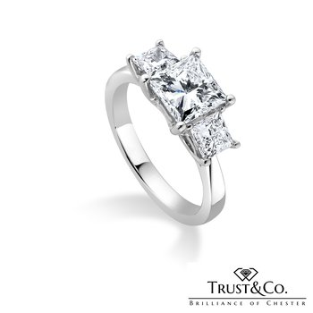 Princess Trilogy Ring