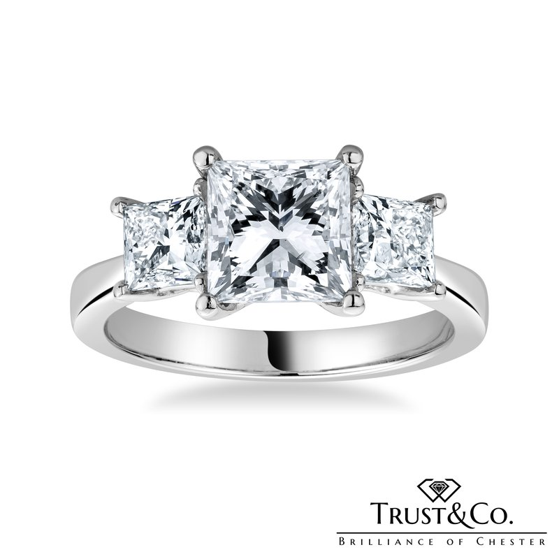 Trust Couture Princess Trilogy Ring