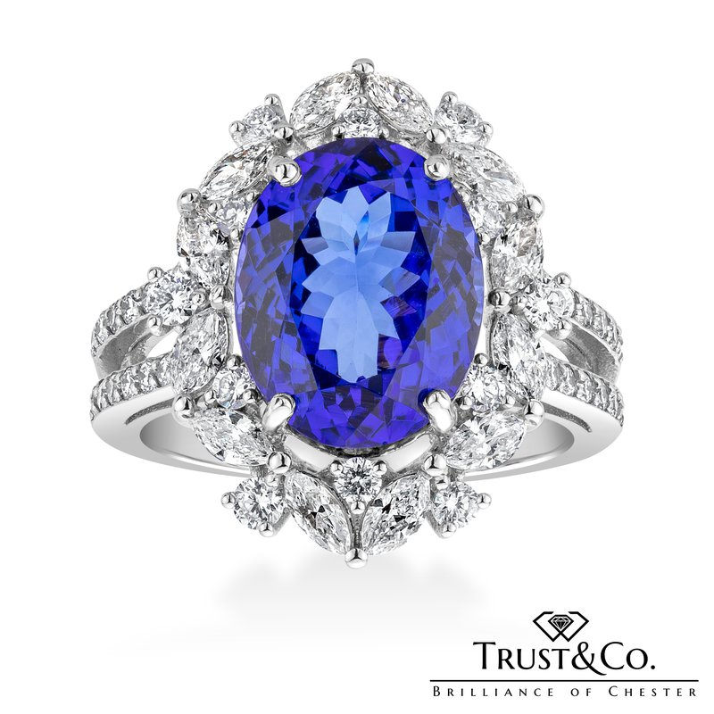 Trust Couture Tanzanite Diamond Ring