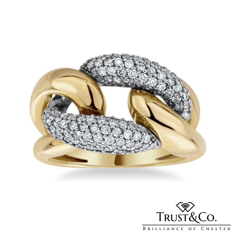 Trust Couture Miami Cuban Link Ring