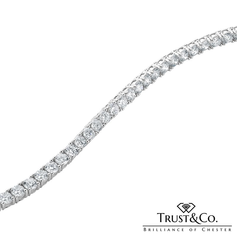 Trust Couture Diamond Tennis Bracelet