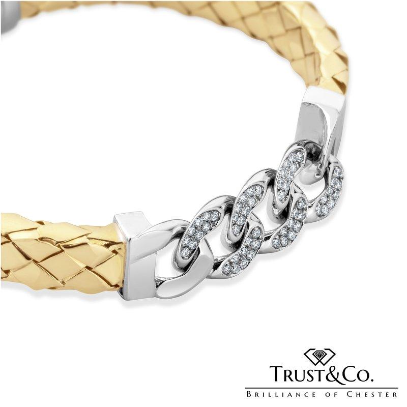 Trust Couture Handmade Diamond Bracelet