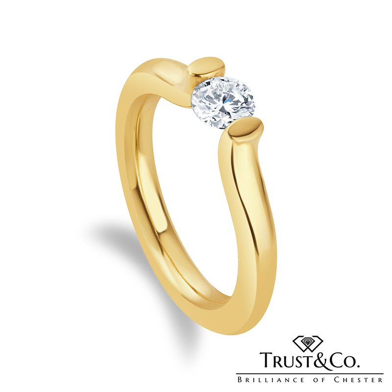 Trust Couture Tension Diamond Ring