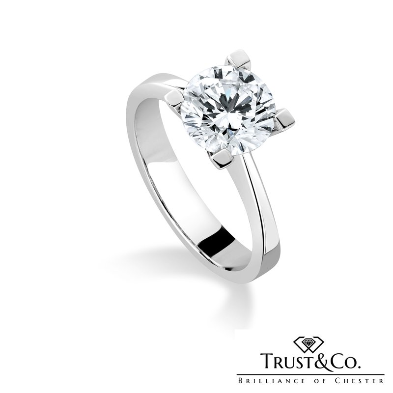 Trust Couture Solitaire Diamond Ring