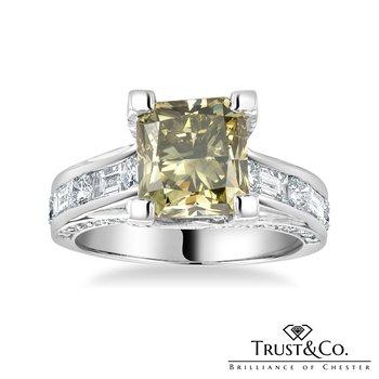 Chameleon Diamond Ring