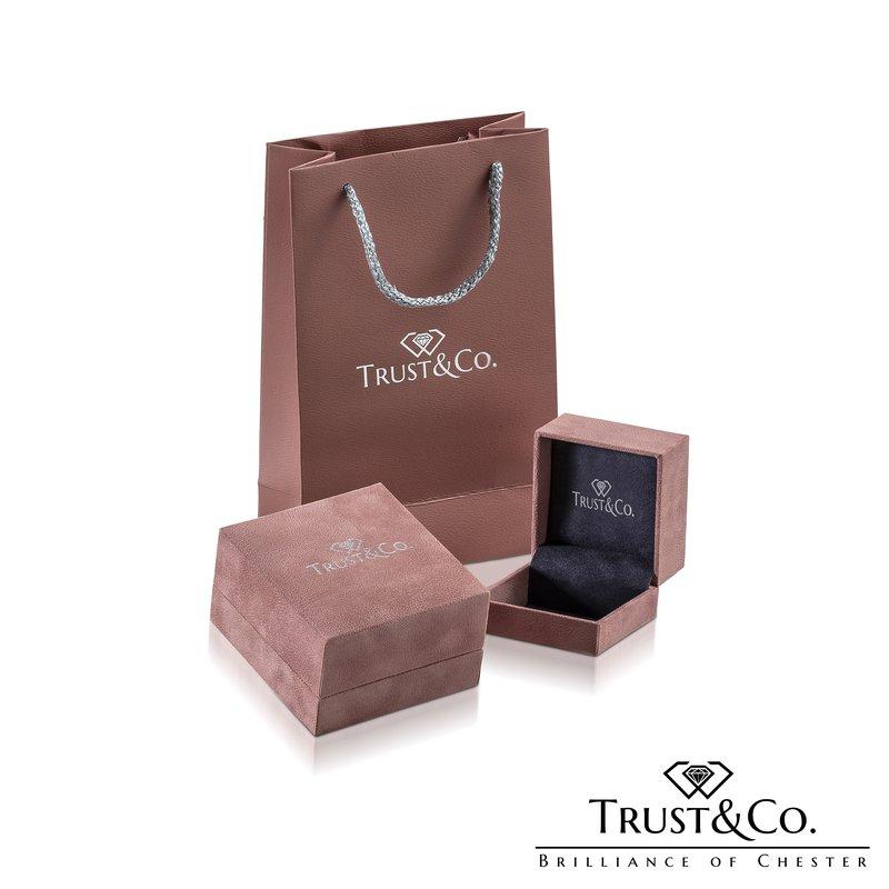 Trust Couture Asscher Cut Diamond Ring