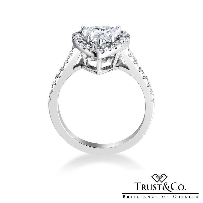 Trust Couture  Heart Cut Diamond Ring
