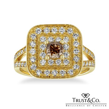 Fancy Colour Diamond Ring