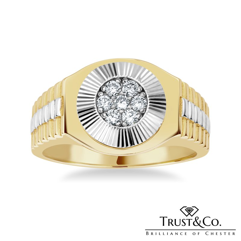 Trust Couture Diamond Gent's Ring