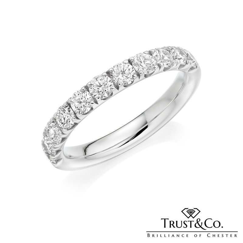 Trust Couture Diamond Eternity Ring