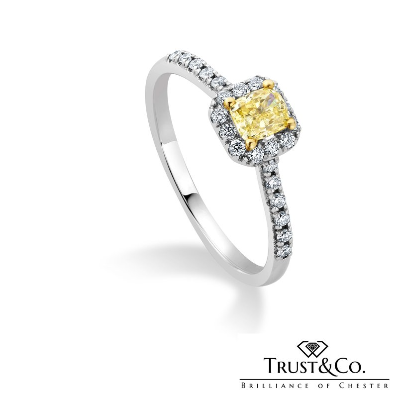 Trust Couture Yellow Diamong Ring