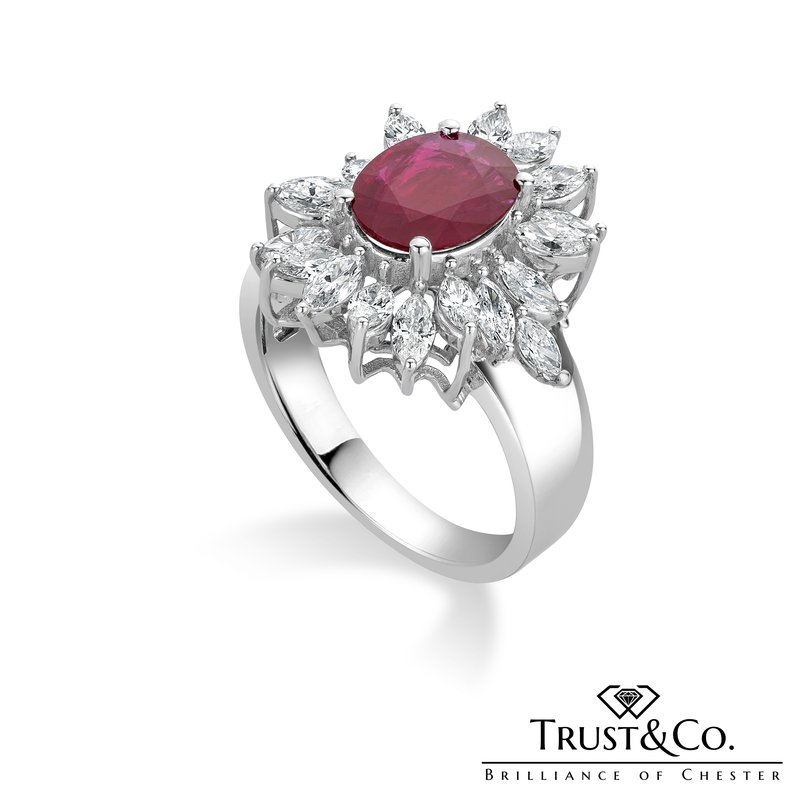 Trust Couture Ruby Diamond Ring