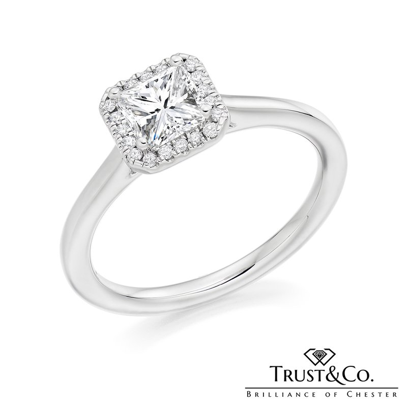 Trust Couture Princess Engagement Ring