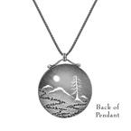 Saratoga Jewels Mountain View Necklace