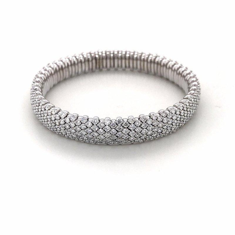 Everlasting 18K White Gold Diamond Bracelet