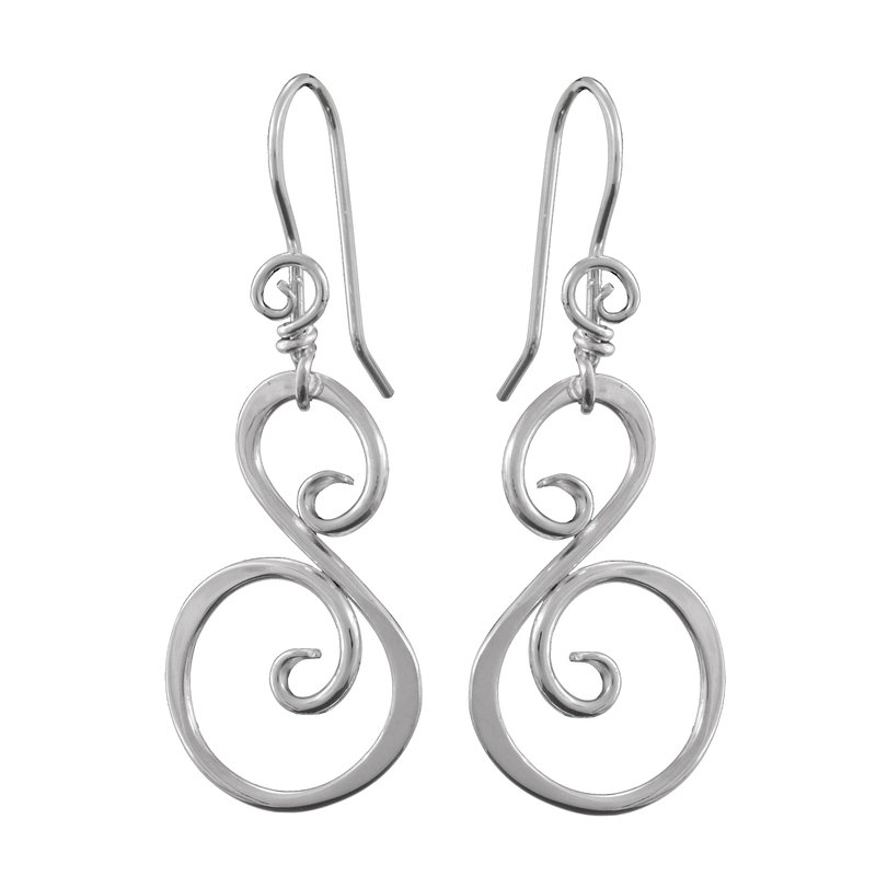 Saratoga Jewels Swan (Grace) Earrings