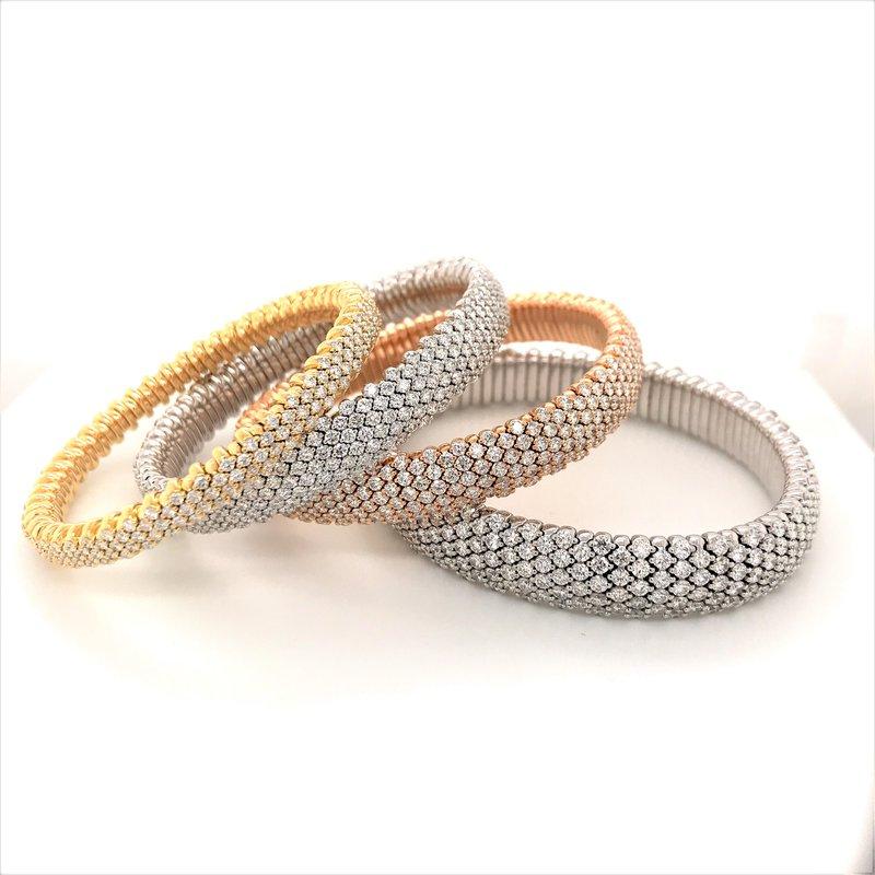 Everlasting 18K Rose Gold Diamond Bracelet