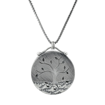 Fall Tree Necklace