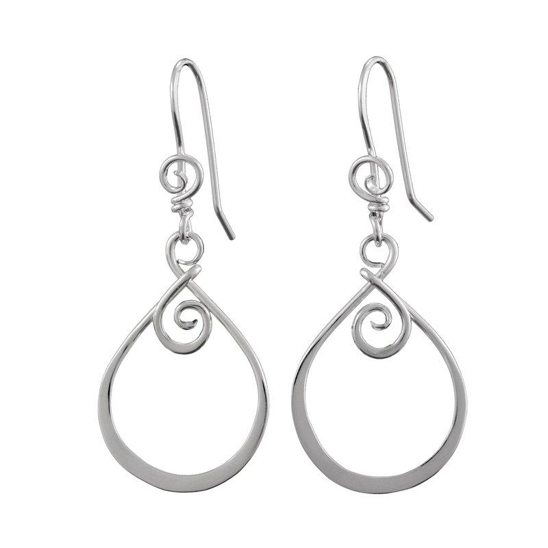 Saratoga Jewels Emergence (Beginnings) Earrings