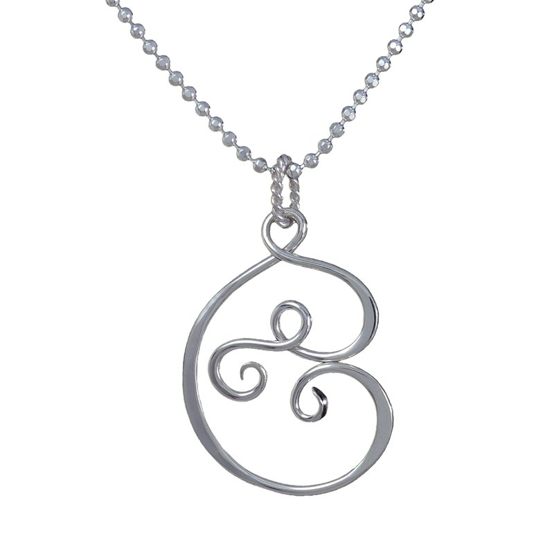 Saratoga Jewels Motherhood (Love) Necklace
