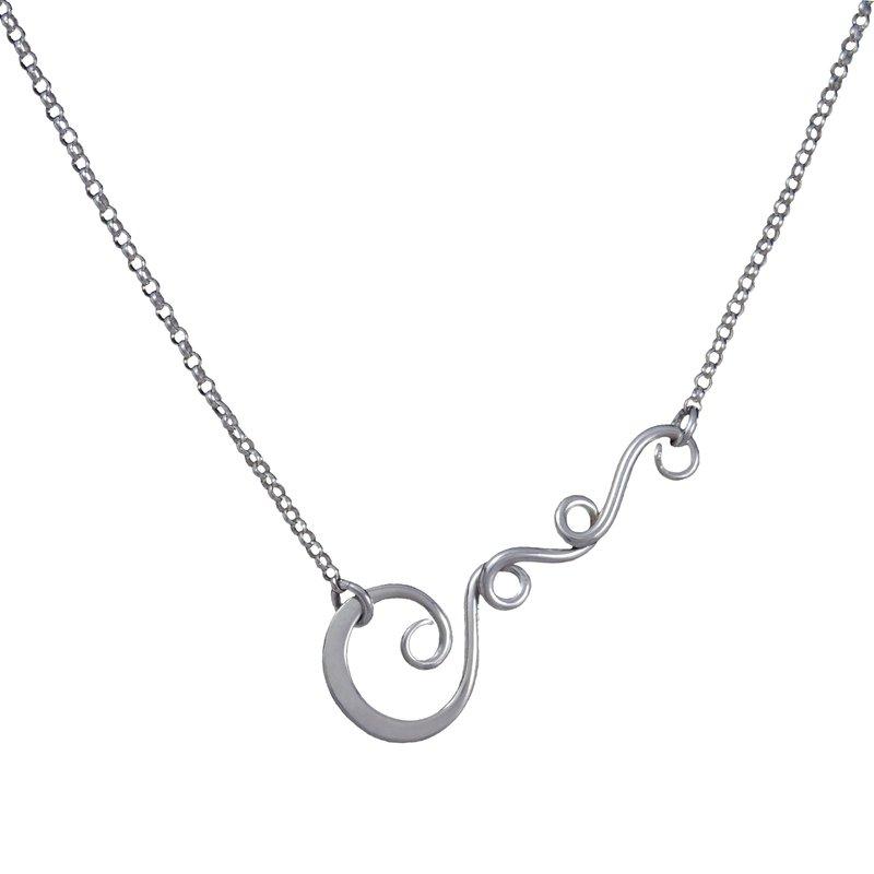Saratoga Jewels Vine (Strength) Necklace