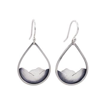 Mountainscape Drop Earrings