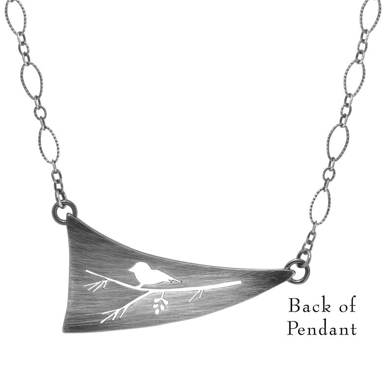 Saratoga Jewels  Songbird Necklace