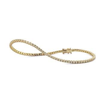 Stacking Bracelet 1 ctw H SI diam