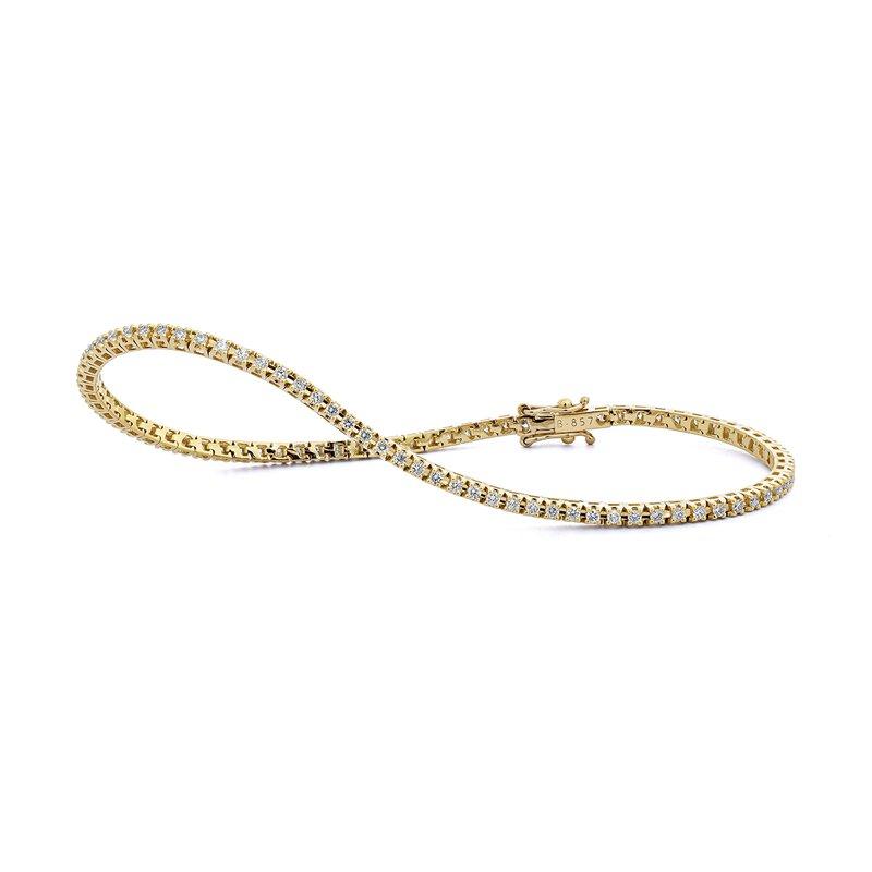 FACET BARCELONA Stacking Bracelet 1 ctw H SI diam