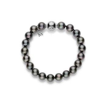 Black Pearl Strand Bracelet