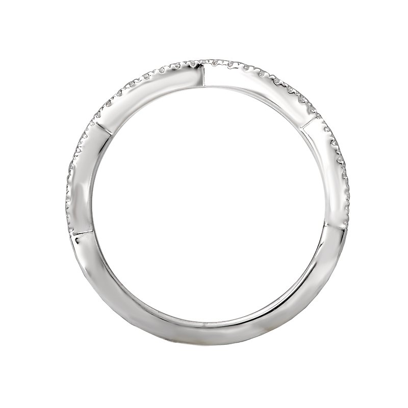 Sam's Signature Collection Scalloped Matching Band