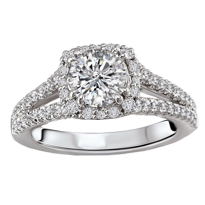 Sam's Signature Collection Split Shank Semi-Mount Diamond Ring