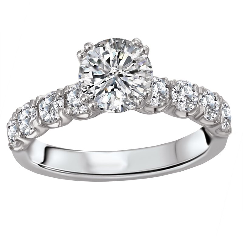 Sam's Signature Collection Semi-Mount Diamond Ring