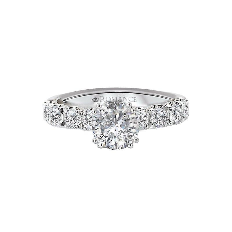 Sam's Signature Collection Semi-Mount Diamond Ring