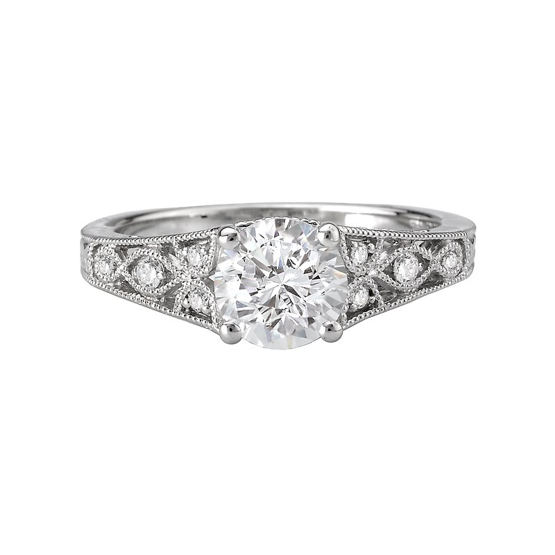 Sam's Signature Collection Vintage Semi-Mount Diamond Ring