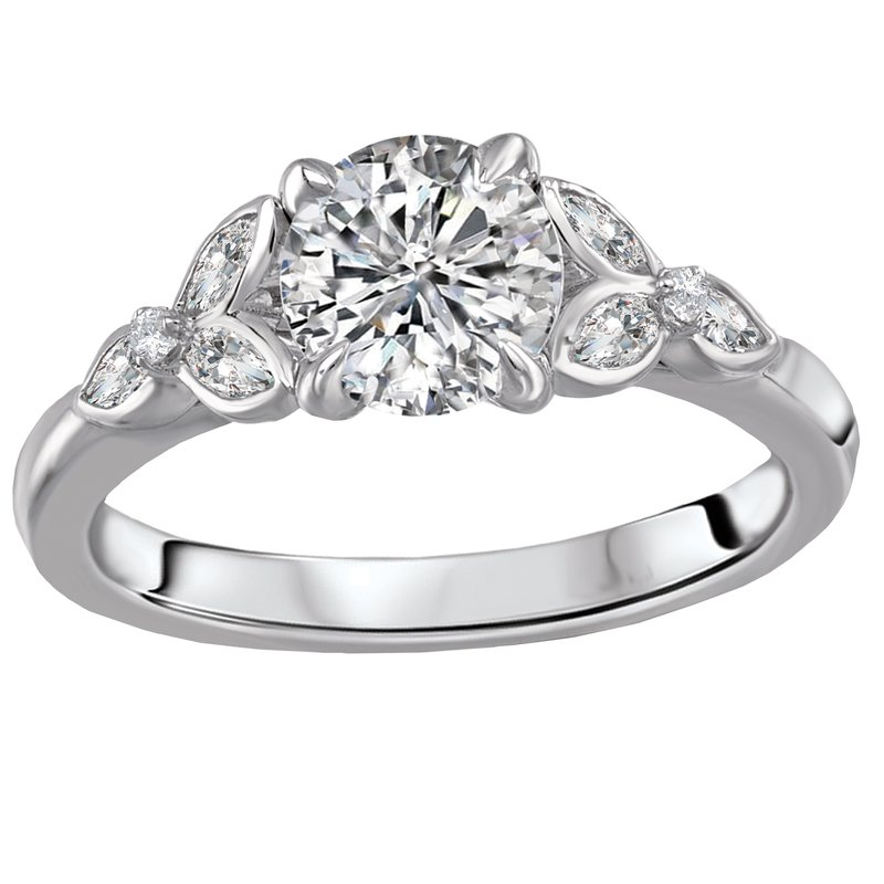 Sam's Signature Collection Classic Semi-Mount Diamond Ring