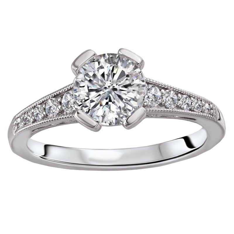 Sam's Signature Collection Vintage Semi-Mount Diamond Ring