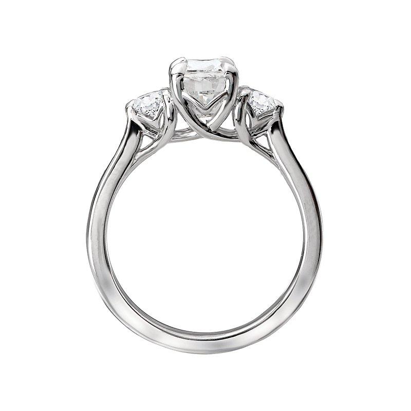 Sam's Signature Collection 3-Stone Semi Mount Diamond Ring