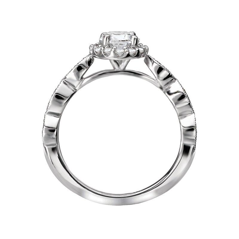 Sam's Signature Collection Halo Semi Mount Ring